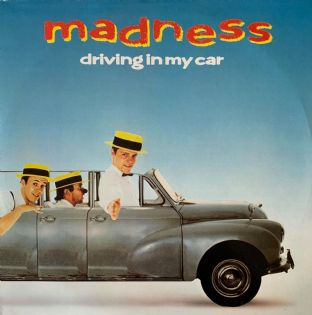 "Madness ‎- Driving In My Car (12"") (VG/VG)"